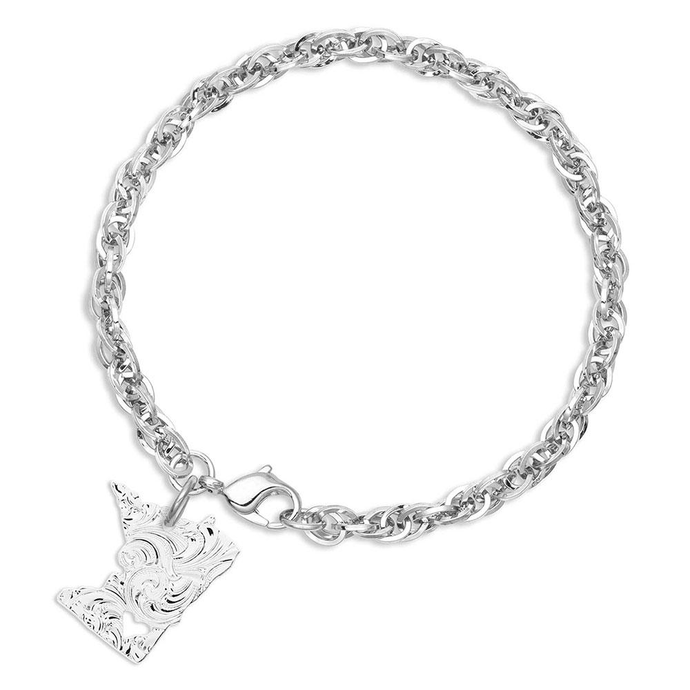 I Heart Minnesota State Charm Bracelet