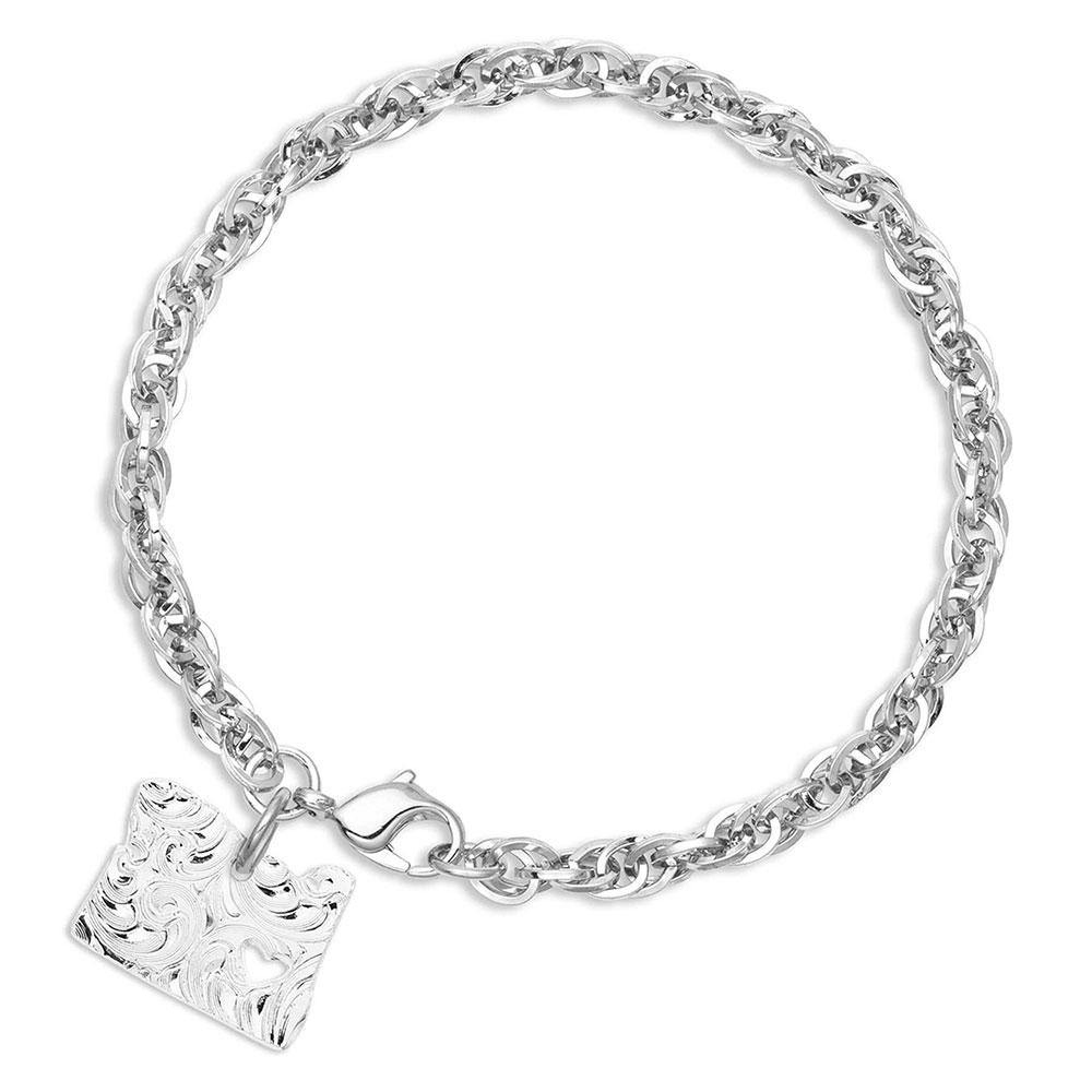 I Heart Oregon State Charm Bracelet