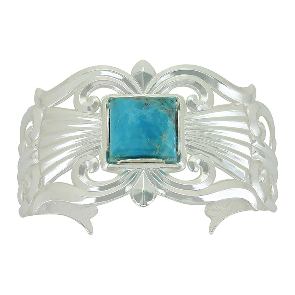 Gates of the Mountains Turquoise Cuff Bracelet