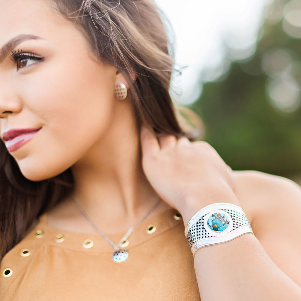 Silver Legacy Turquoise Cuff Bracelet