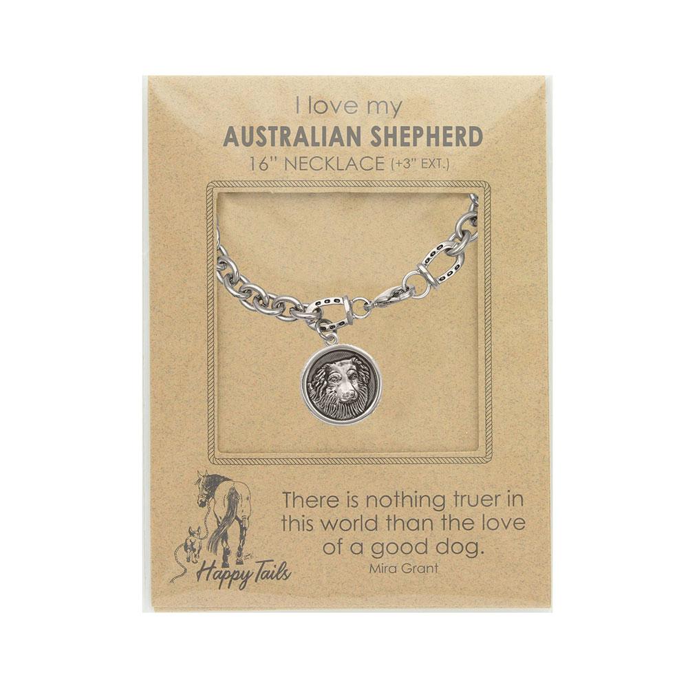 Happy Tails Australian Shepherd Charm Bracelet