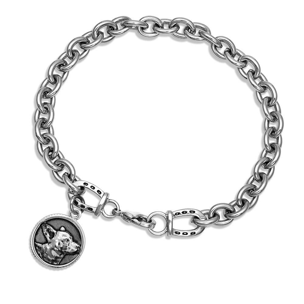 Happy Tails Corgi Charm Bracelet