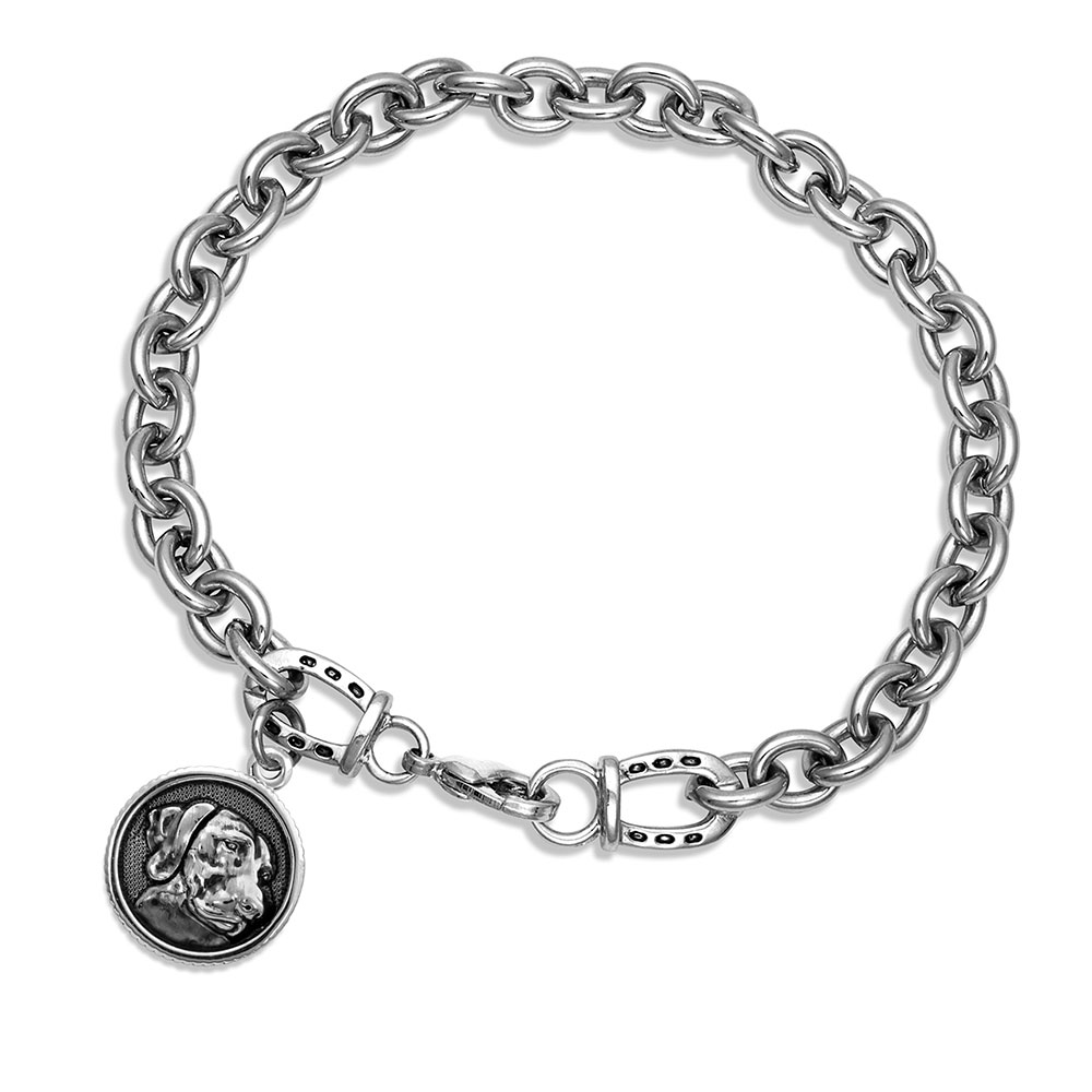 Happy Tails Shorthair Pointer Charm Bracelet
