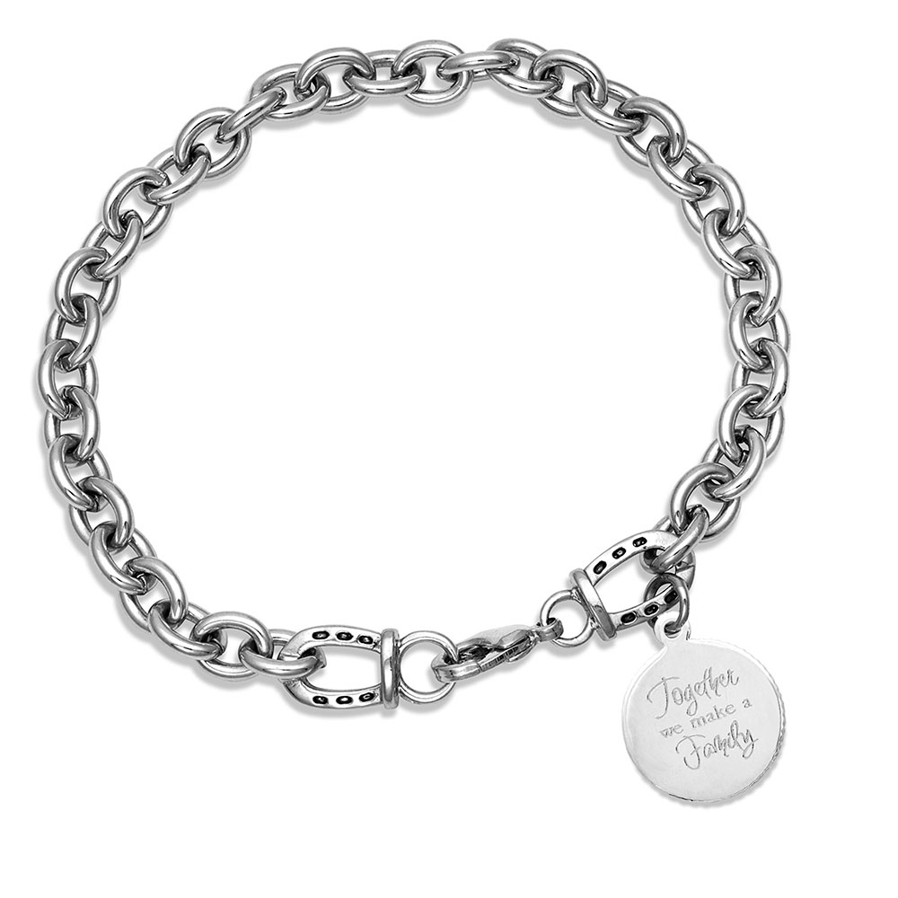 Happy Tails Golden Retriever Charm Bracelet