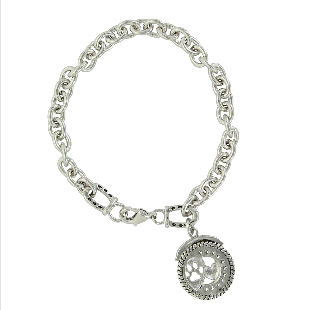 Rescue Paws Charm Bracelet