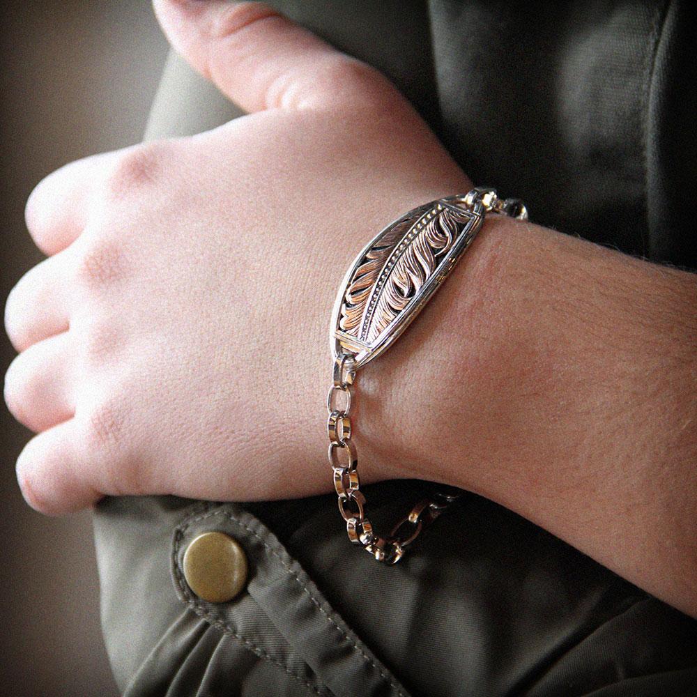 Hope's Feather Wisp Bracelet