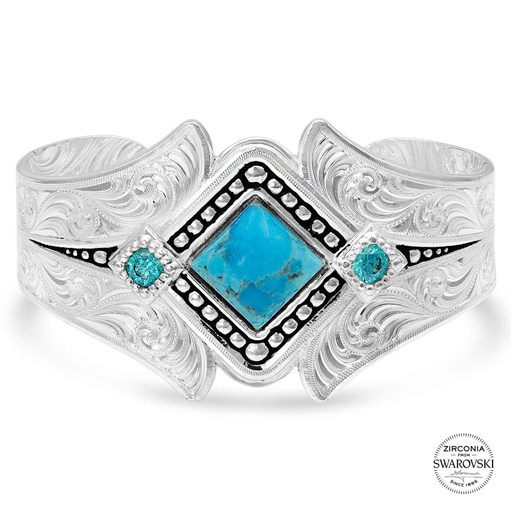Take A Chance Turquoise Cuff Bracelet