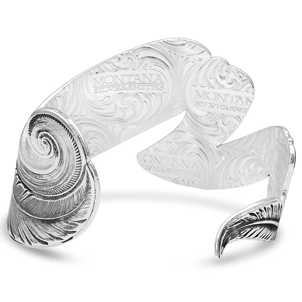 Free Spirit Feather Cuff Bracelet