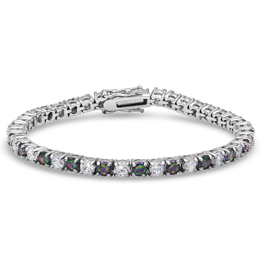 A String of Northern Lights Bracelet
