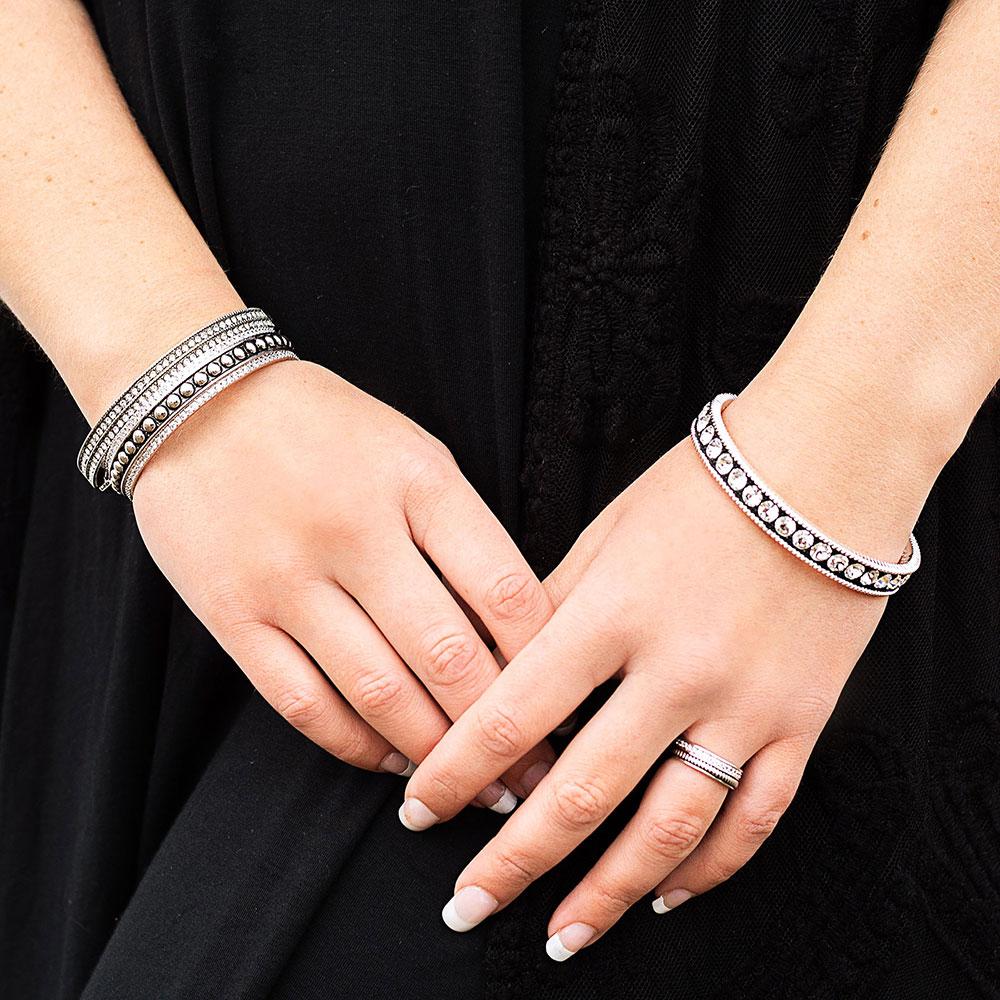 Haloed Beauty Cuff Bracelet