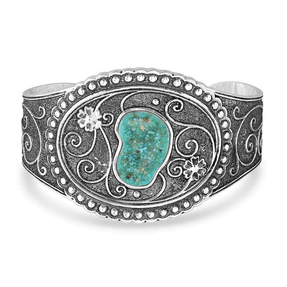Country Road Turquoise Cuff Bracelet