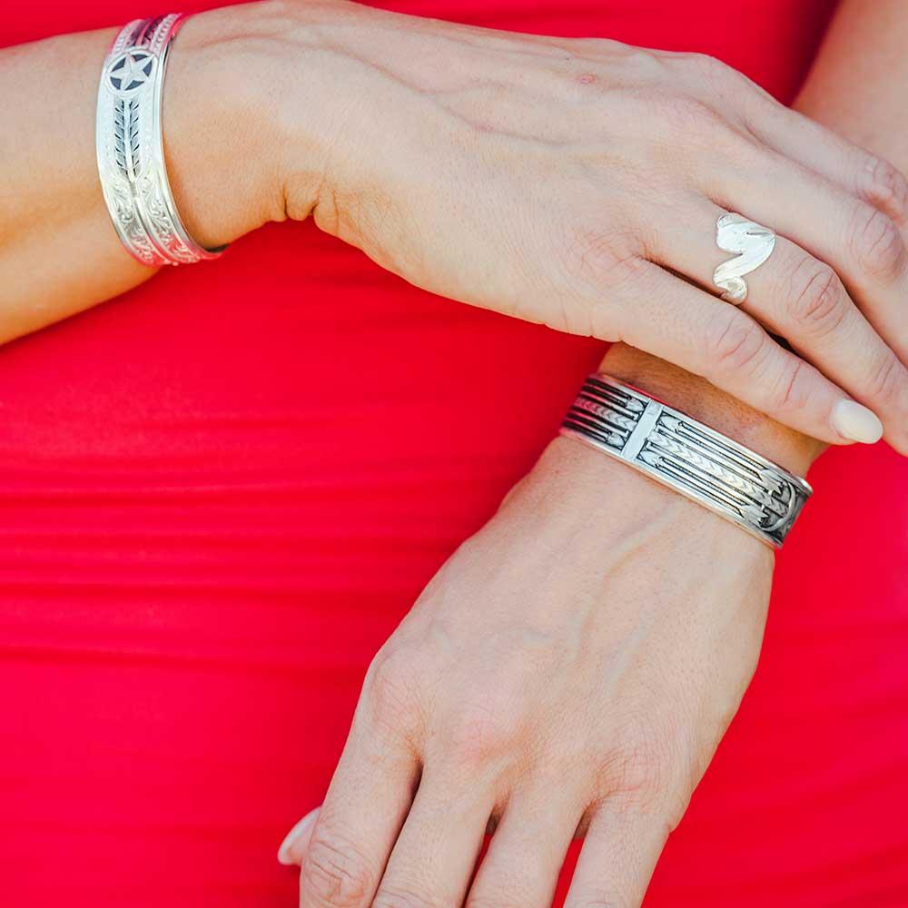 Aim High Star Cuff Bracelet