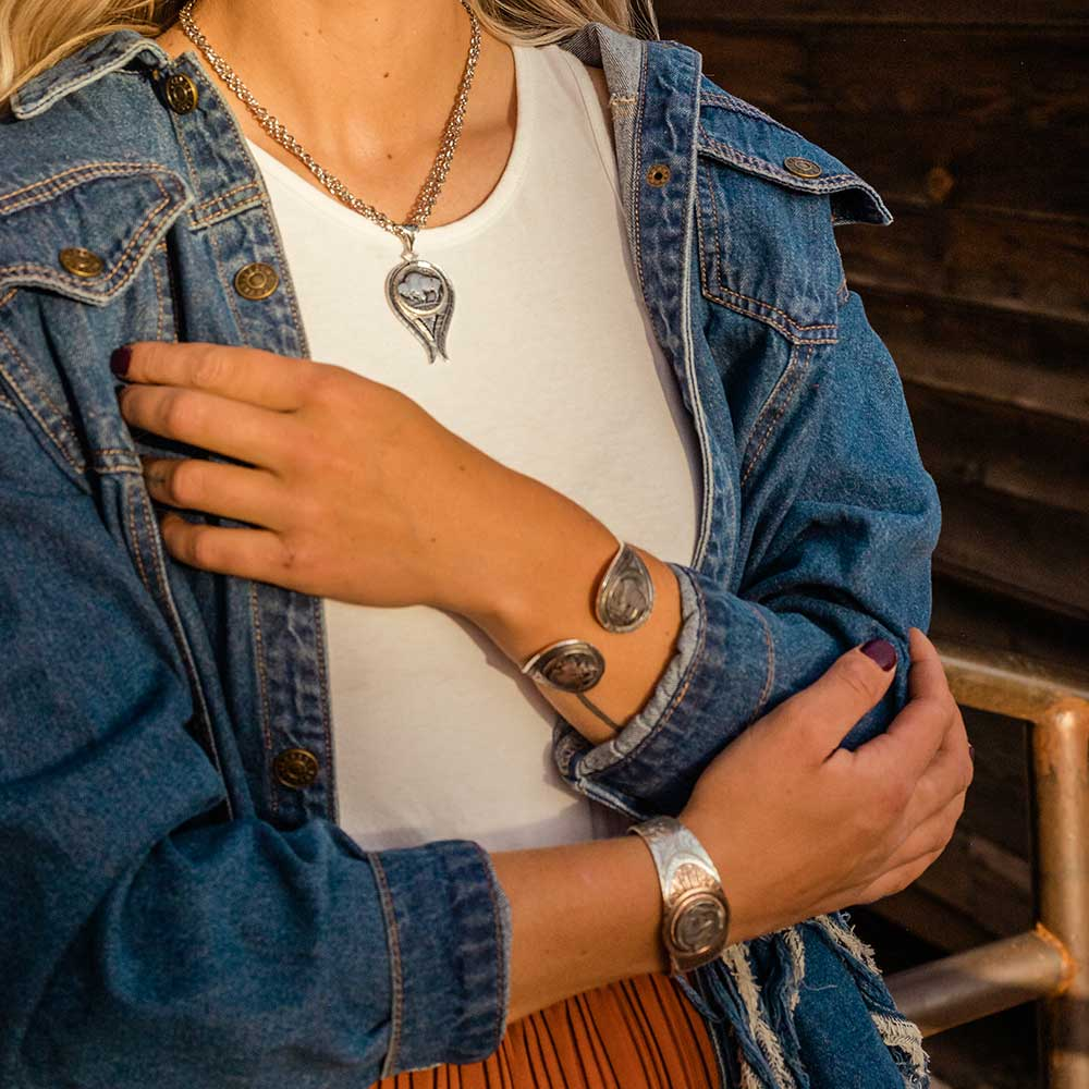 Buffalo Spirit Cuff Bracelet