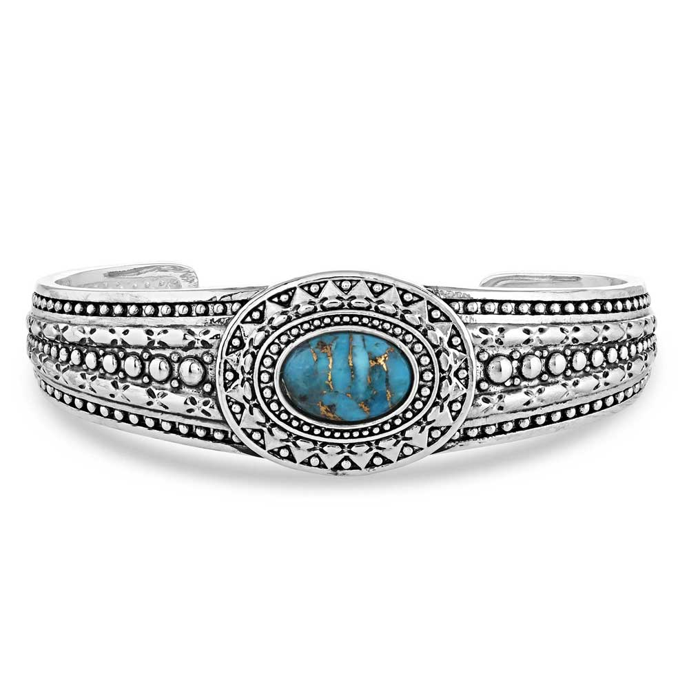 At the Center Turquoise Bracelet