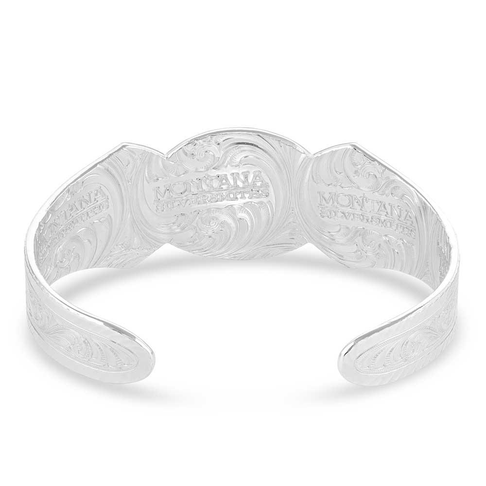 West Bound Silver Cuff Bracelet