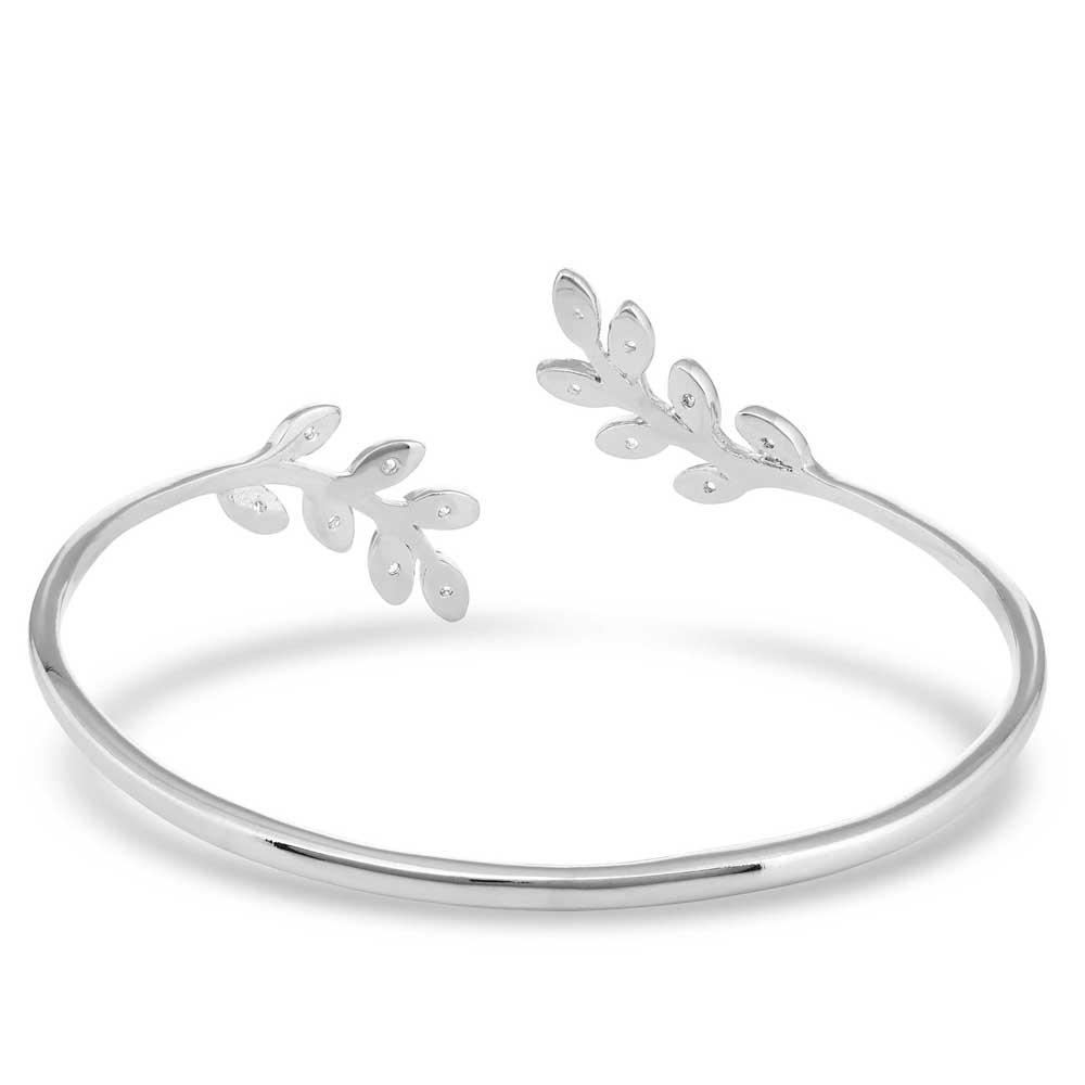 Frozen in Time Leaf Cuff Bracelet