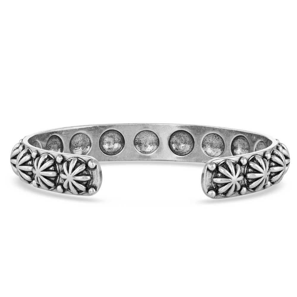 Starlight Starbrite Stone Turquoise Silver Bracelet