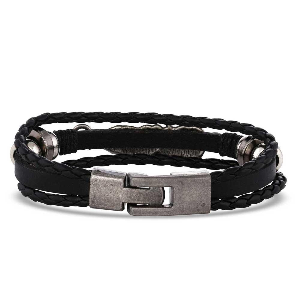 Braided Wrap Feather Bracelet