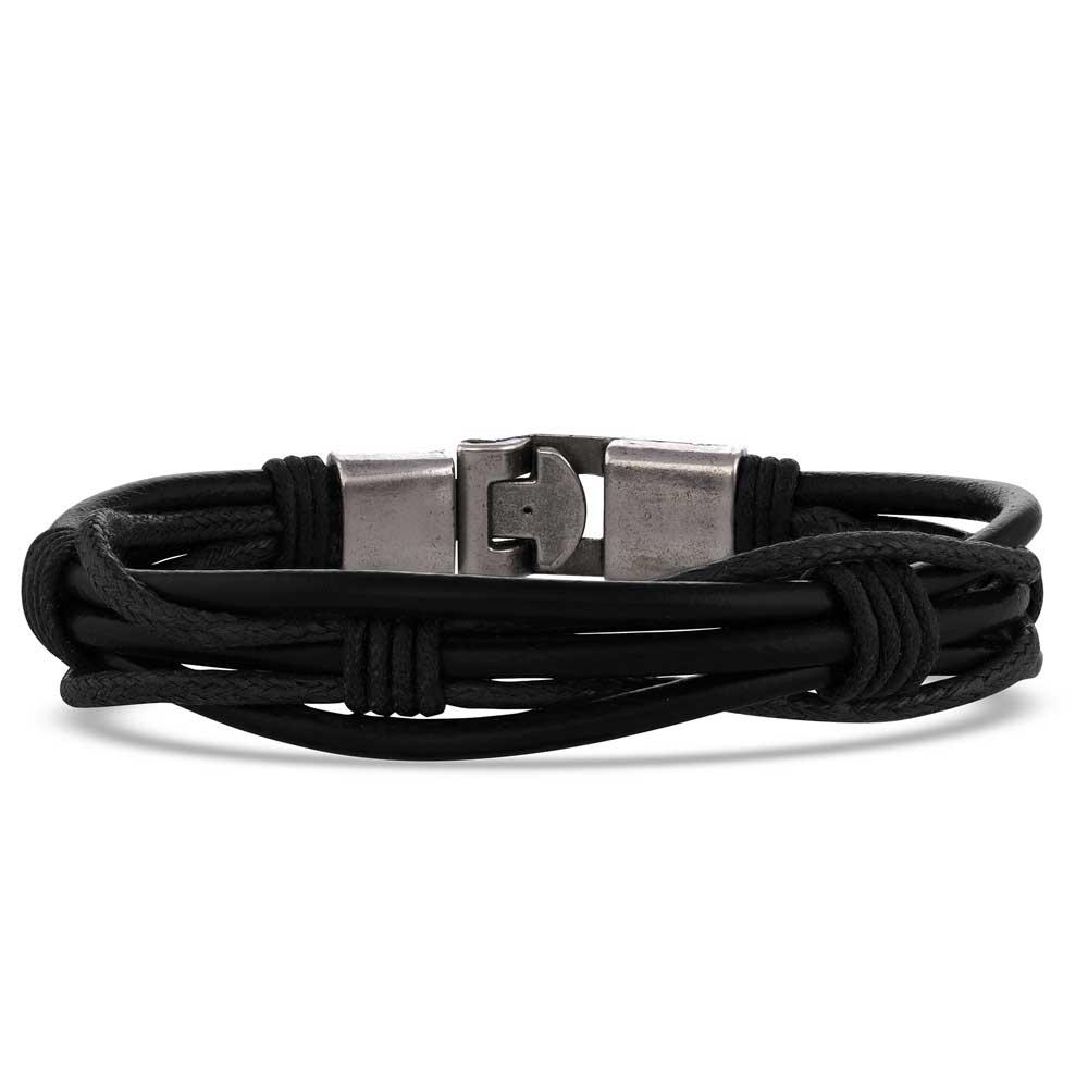 Bison Grass Braided Wrap Bracelet