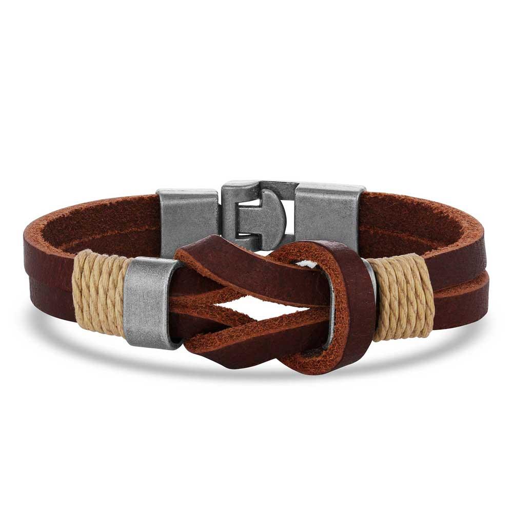 Stronger Together Leather Bracelet