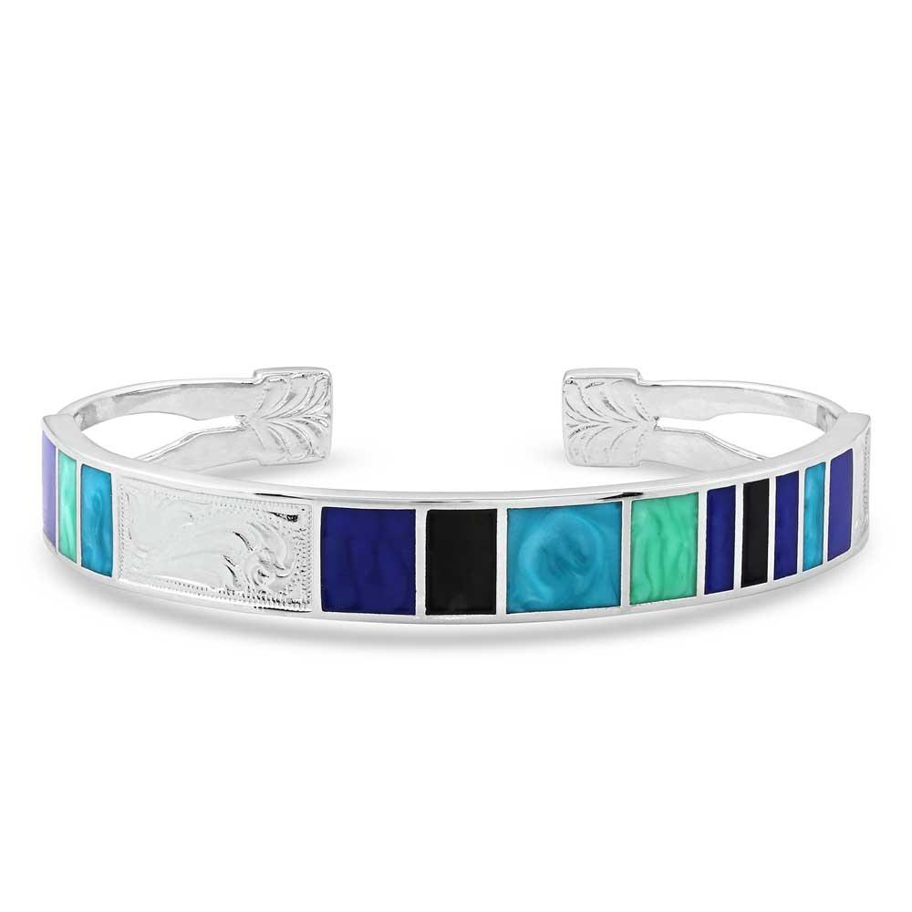 American Legends Silver Cuff Bracelet