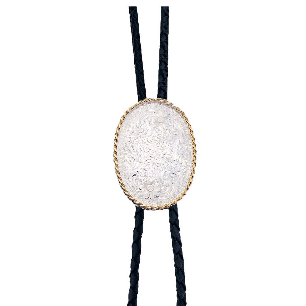 Custom Silver Engraved Bolo Tie - Any Figure