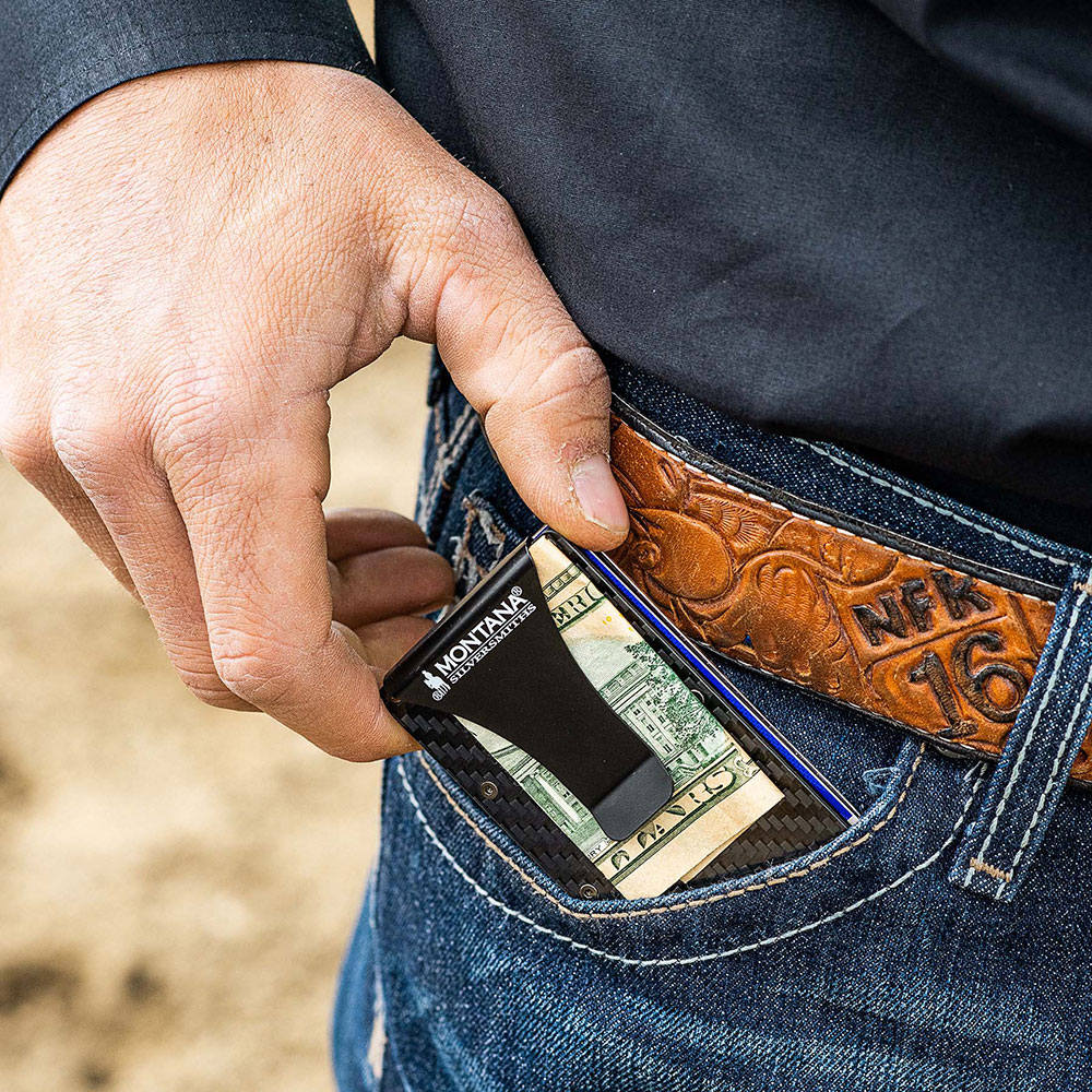 Montana Credit Card & Cash Case