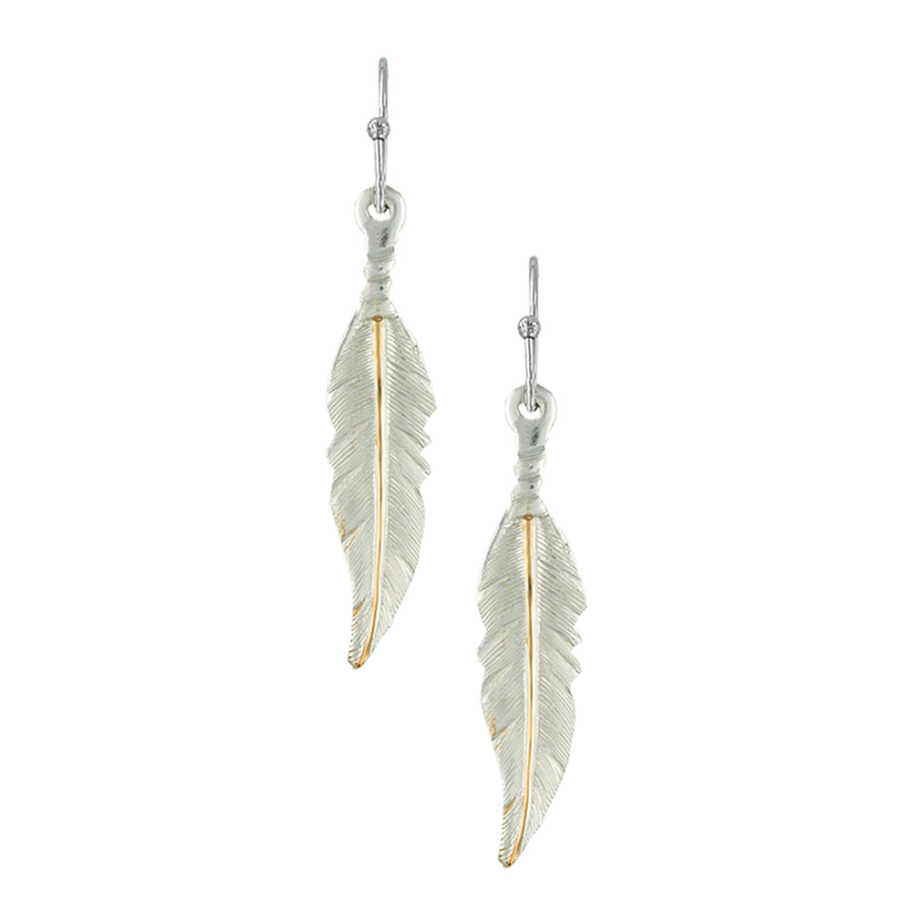 Dream Feathers Dangle Earrings
