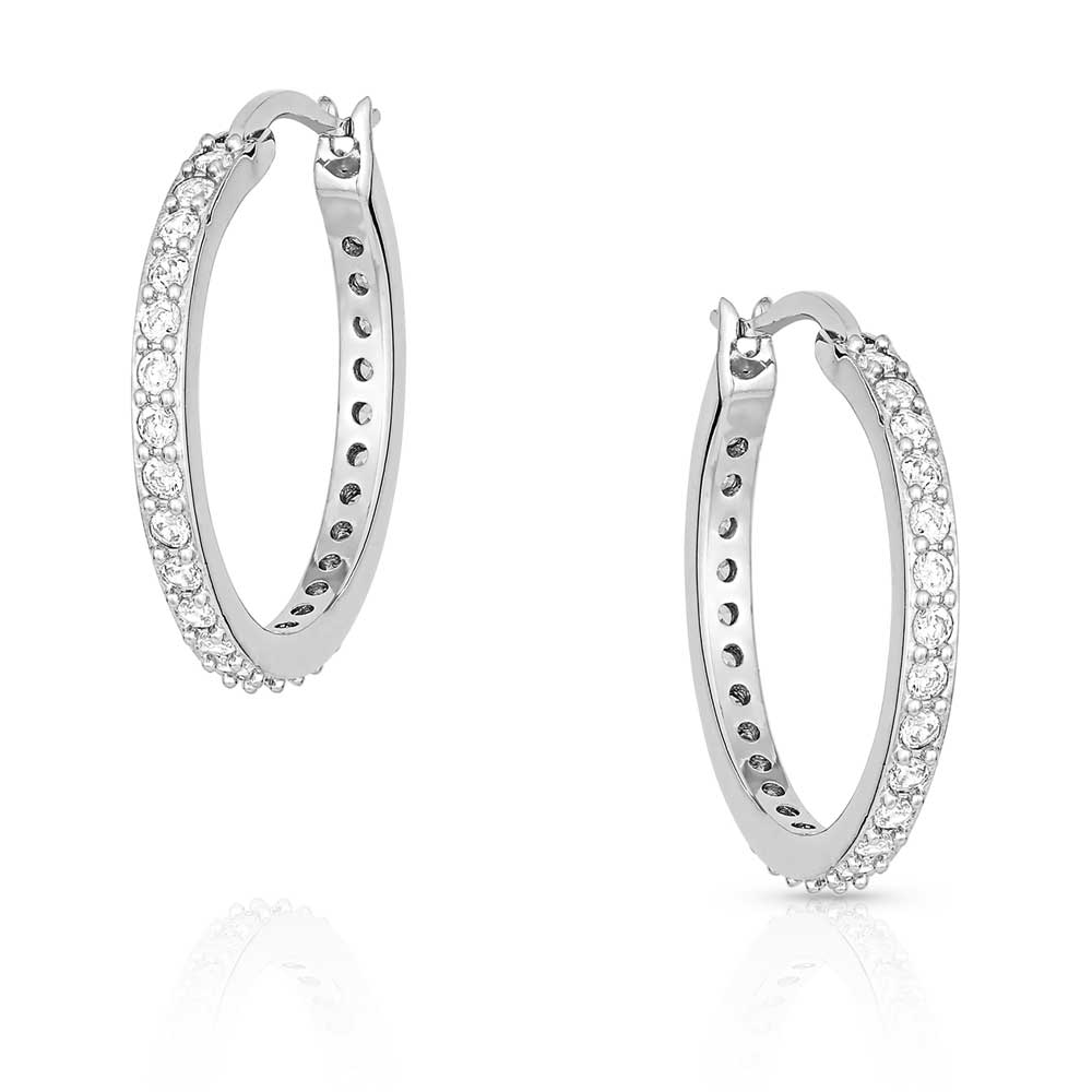 Milky Way Hoop earrings