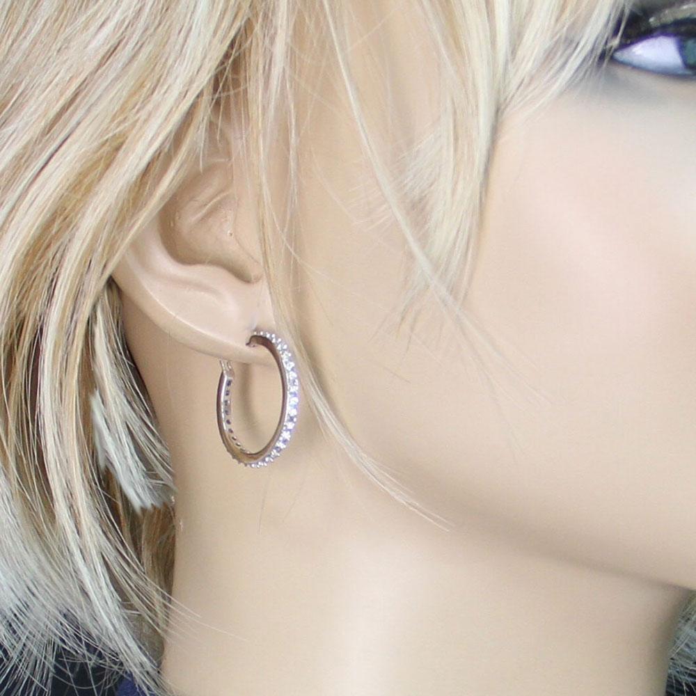 Milky Way Hoop earrings