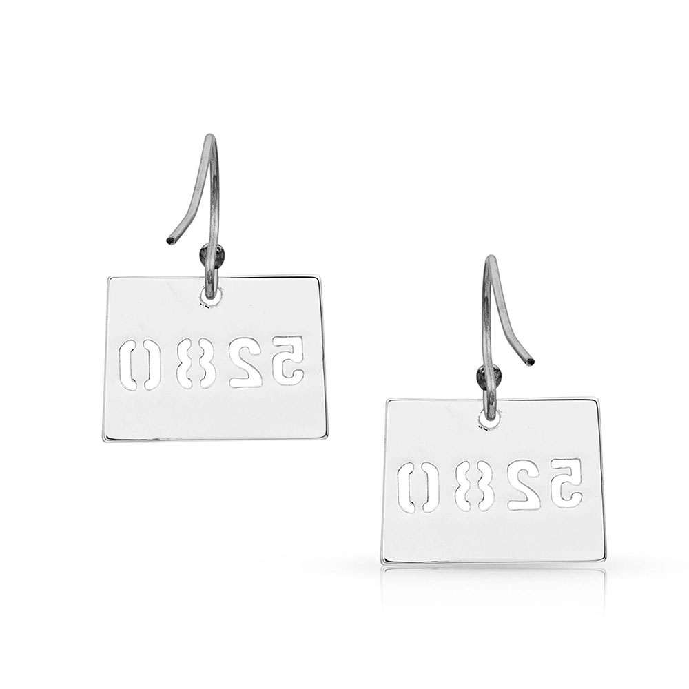I Heart Colorado State Charm Earrings