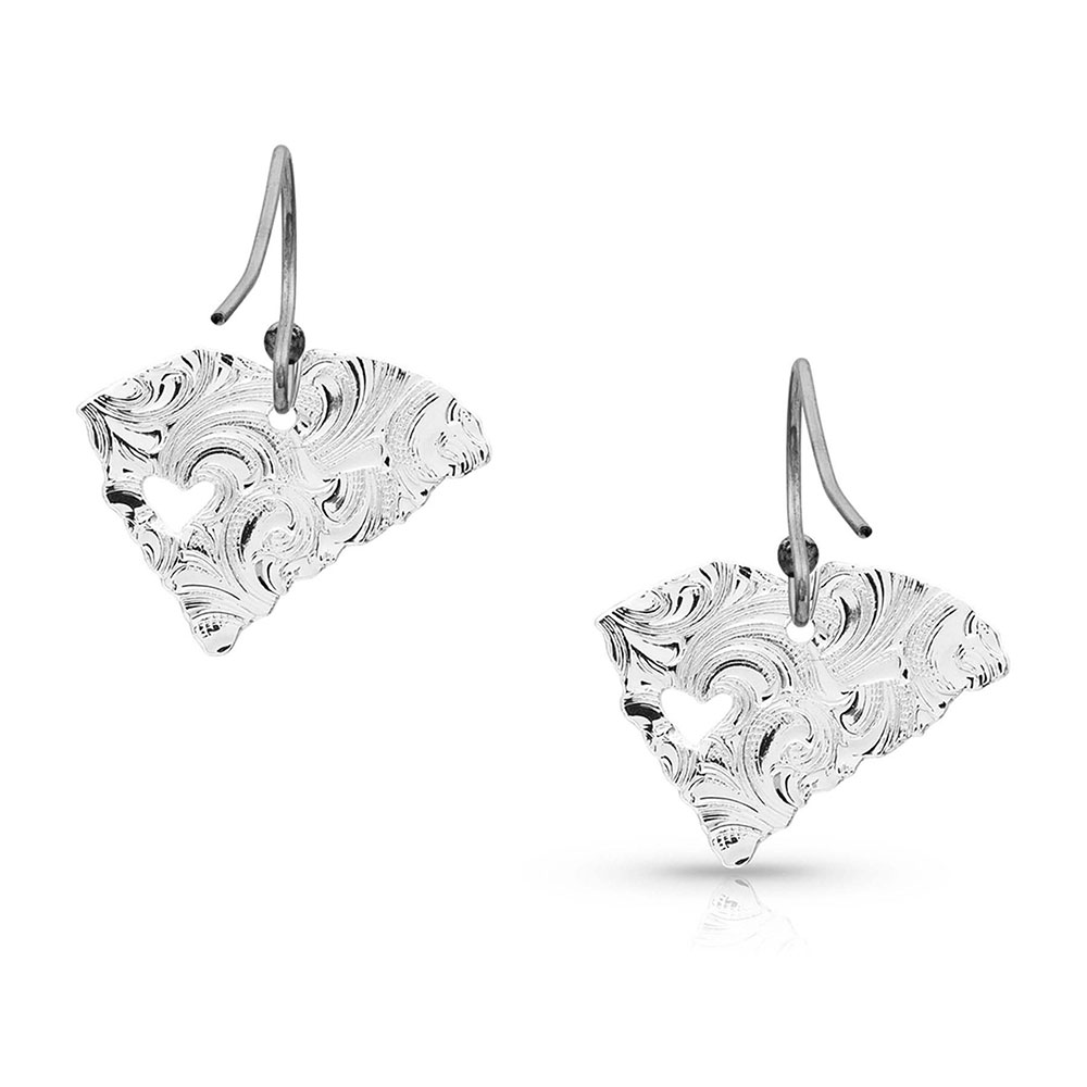 I Heart South Carolina State Charm Earrings
