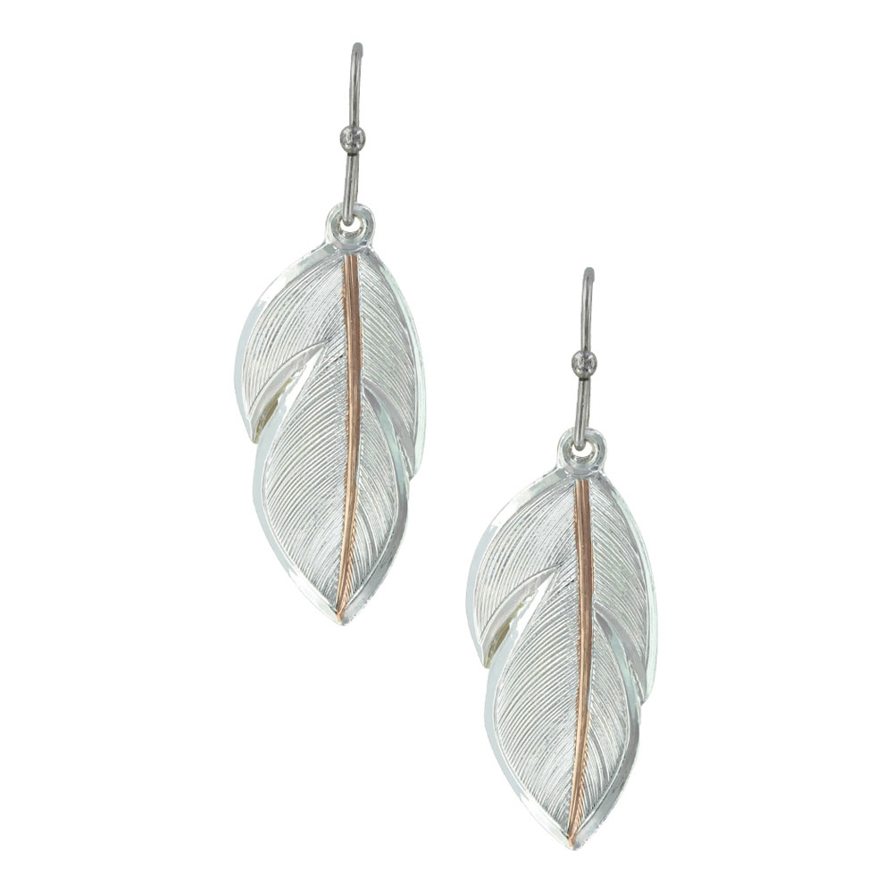 Downy Feather Earrings