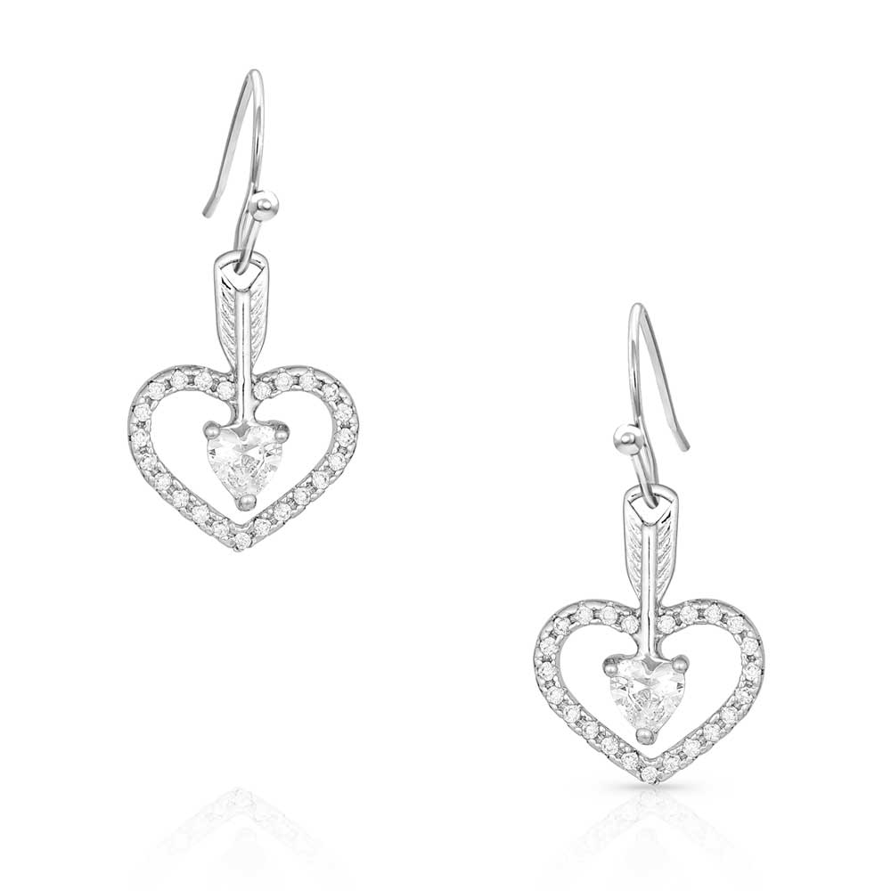 Straight to the Heart Arrow Earrings