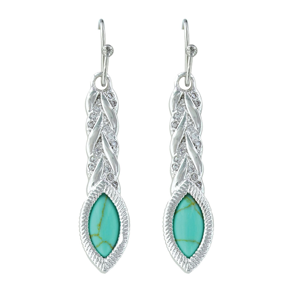 Woven Lights on Earth Earrings