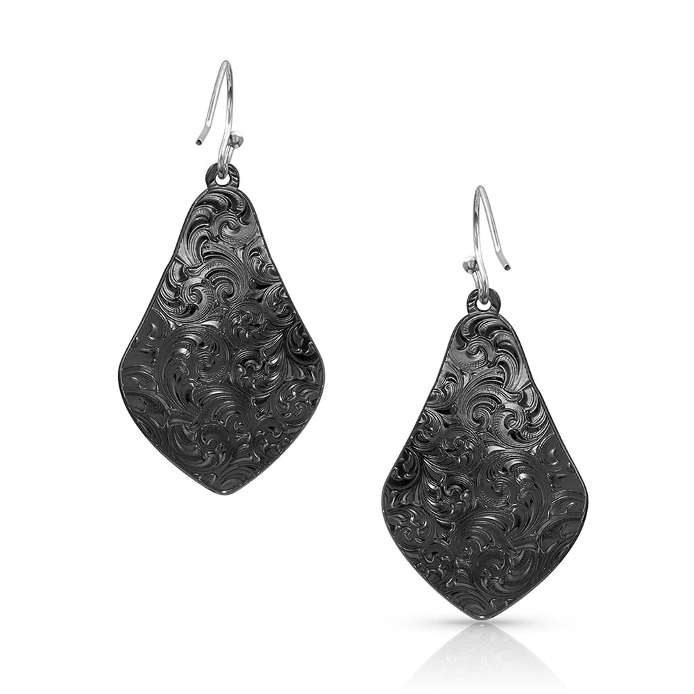 Midnight Shadows Yoke Earrings