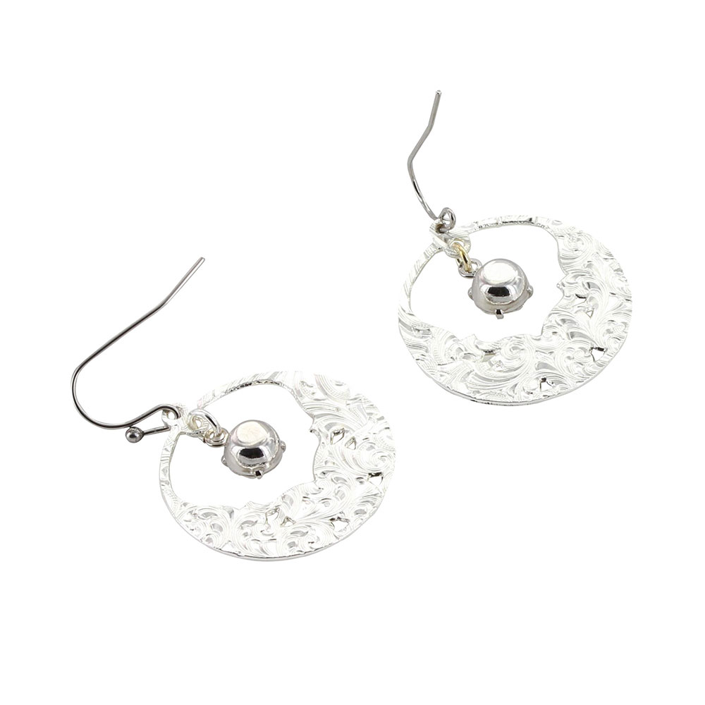 Evening Star's Wild Rose Earrings