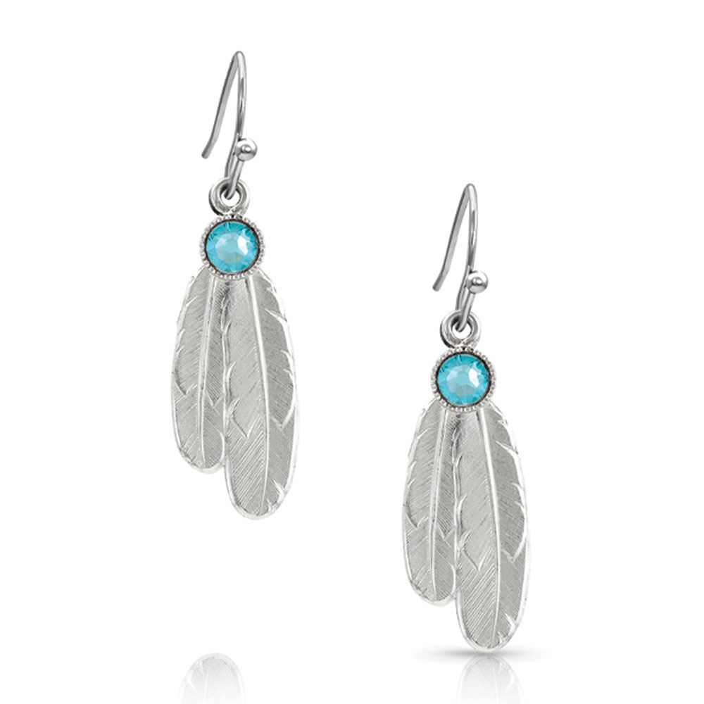 Gift of Freedom Feather Earrings