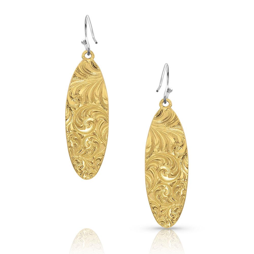 A Bit of Gold Bumblebee Jasper Earrings