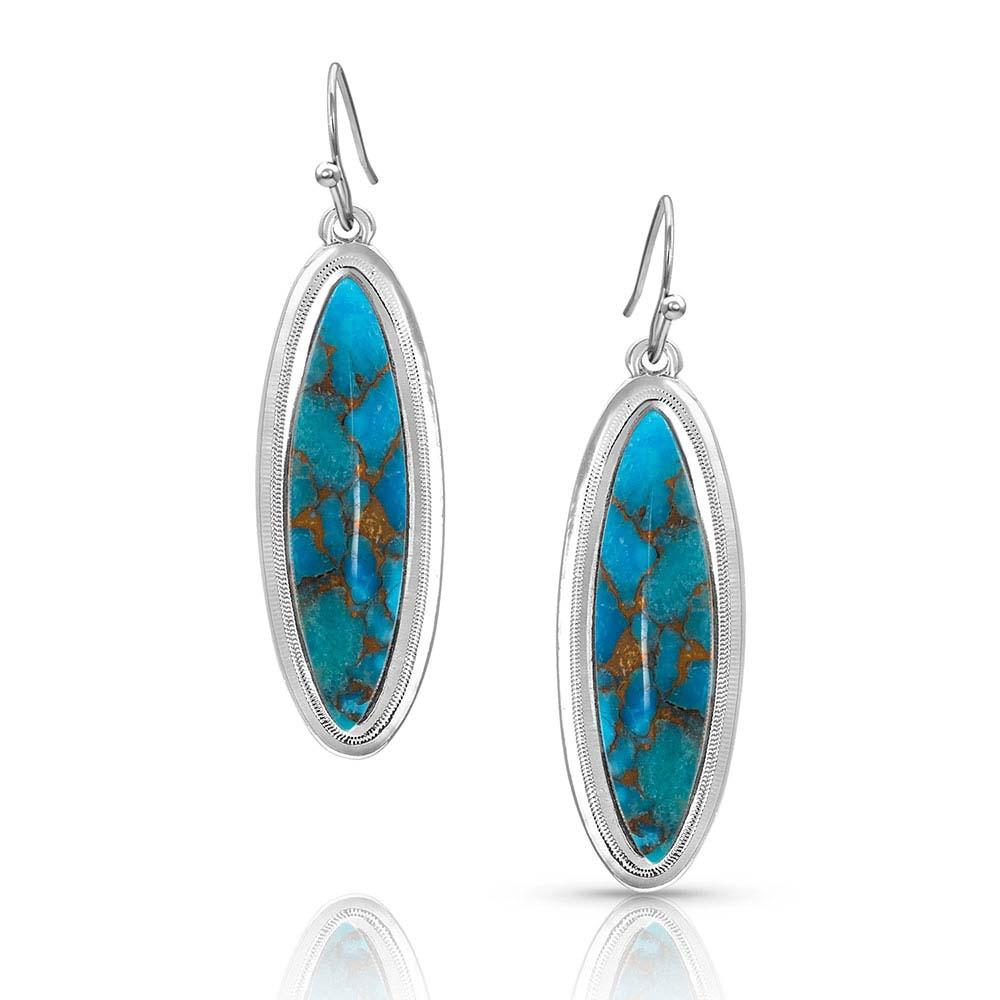 A Bit of Santa Fe Turquoise Earrings