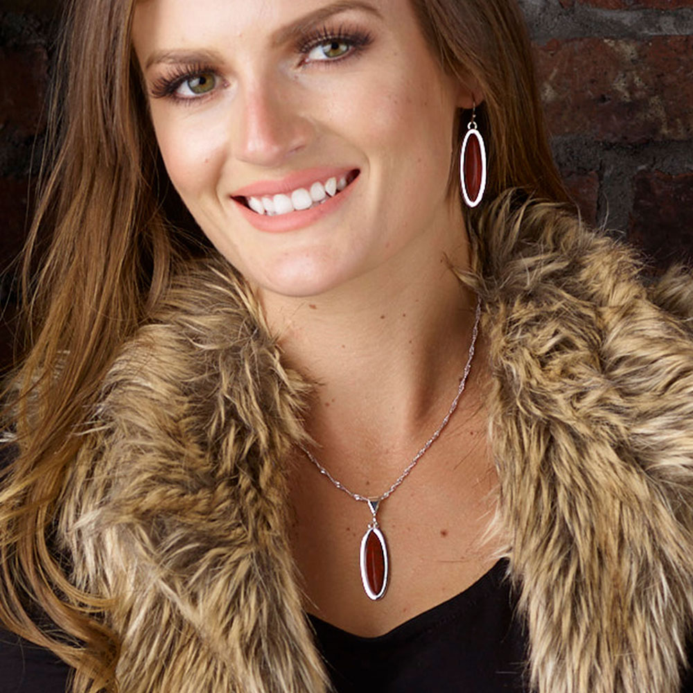Canyon Colors Red Rock Earrings