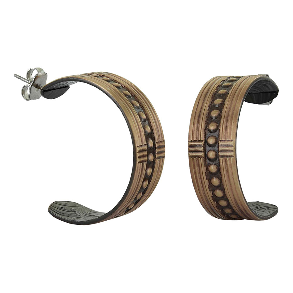 Center of Attention Hoop Earrings