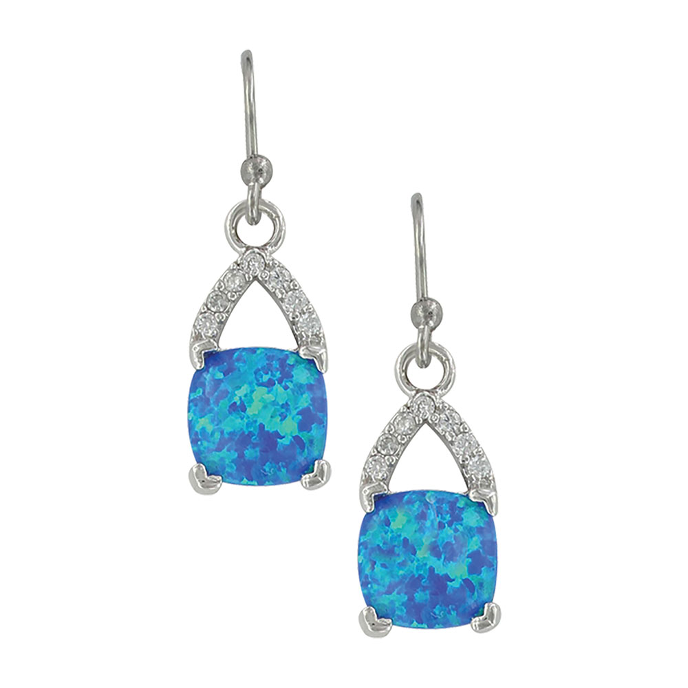 River of Lights Branched Pool Earrings
