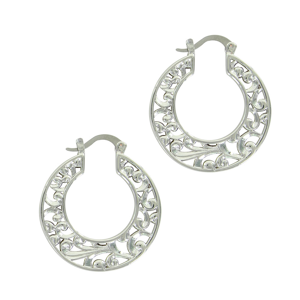 A Touch of Wild Hoop Earrings