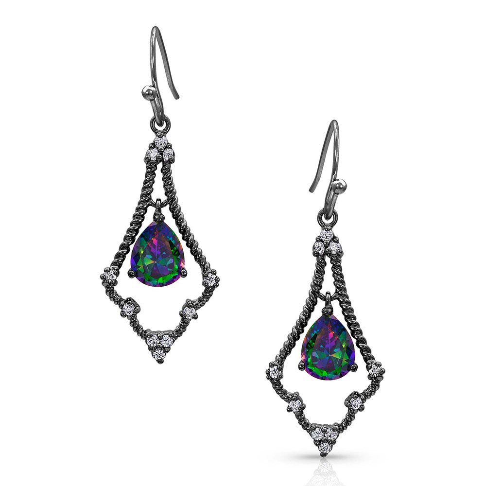 Northern Lights Kite Constellation Earrings