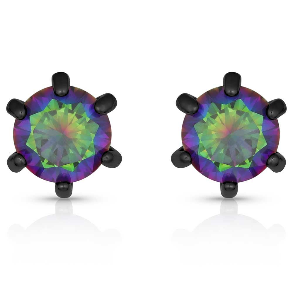 Northern Lights Stud Earrings