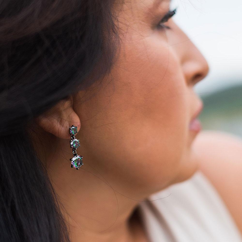 Northern Lights Trio Earrings