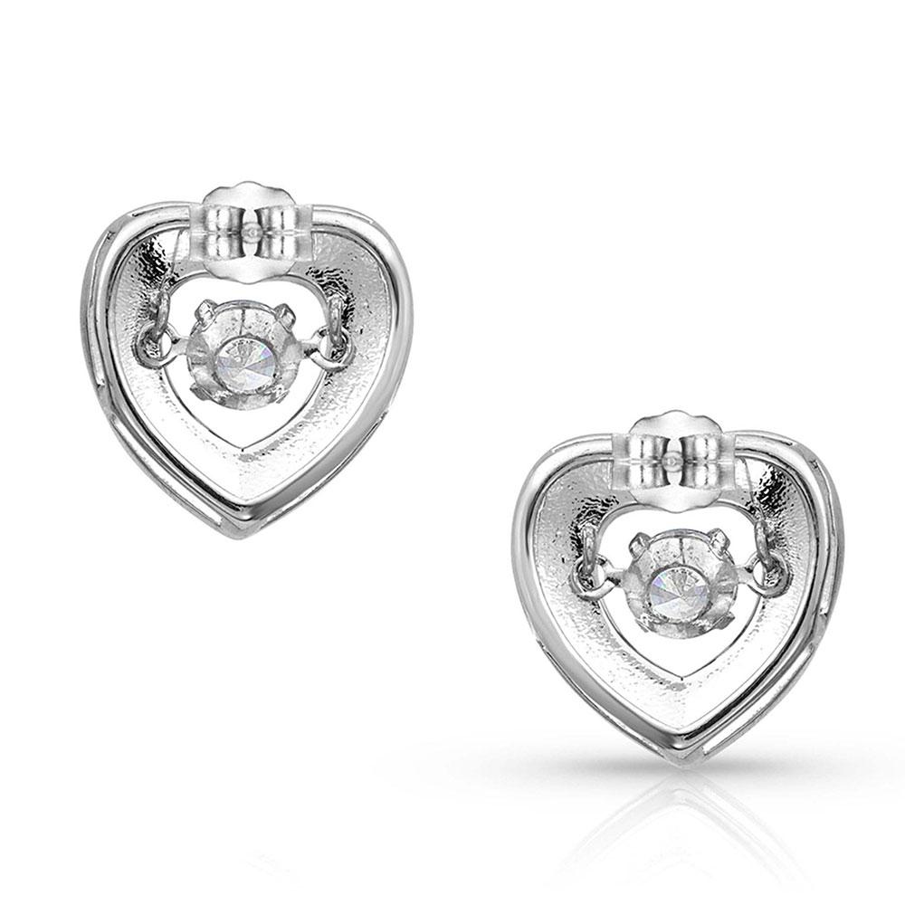 River of Lights Dancing Heart Earrings
