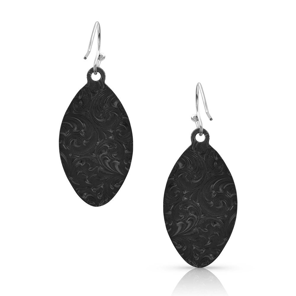 Polished River Rock Earrings