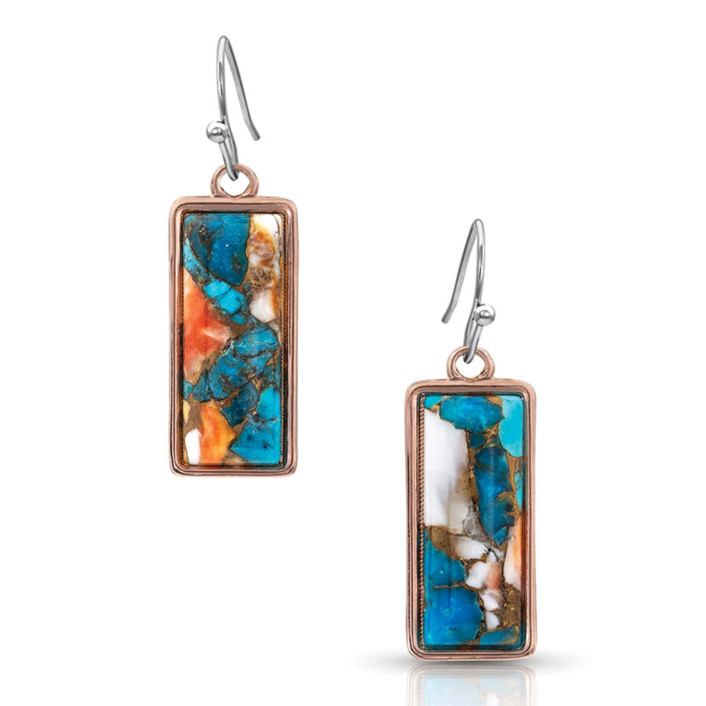 Sweet Memories Picture Perfect Turquoise Earrings